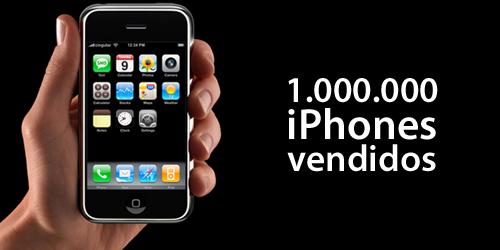 1.000.000 iPhones vendidos