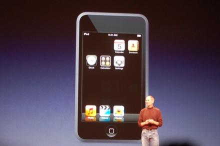 novos ipod
