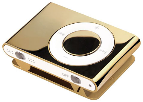 iPod Shuffle de Oro