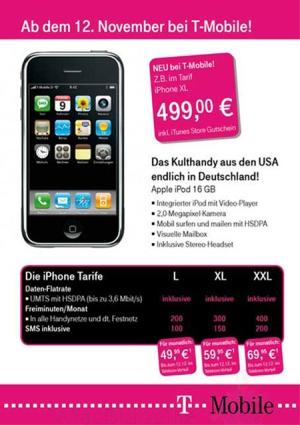 Publicidade do iPhone en Alemaña