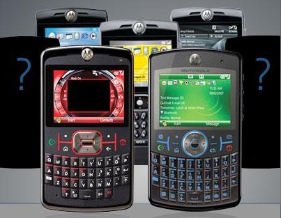 Novos Motorola MotoQ