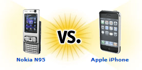 N95 vs iPhone