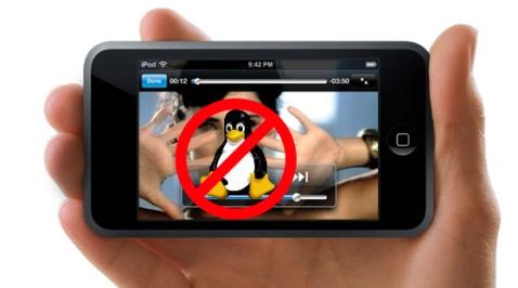 Os novos iPod non funcionan en Linux