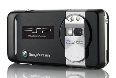 Posíbel teléfono de Sony Ericsson